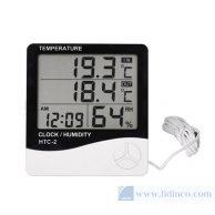 Đồng hồ đo nhiệt độ độ ảm HTC-2