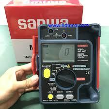 Đồng hồ vạn năng đo điện trở cách điện Sanwa MG1000