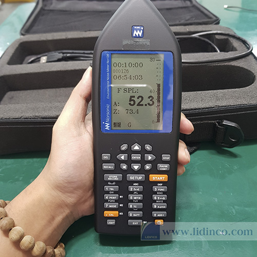 Máy đo âm thanh và phân tích dải tần Nor139