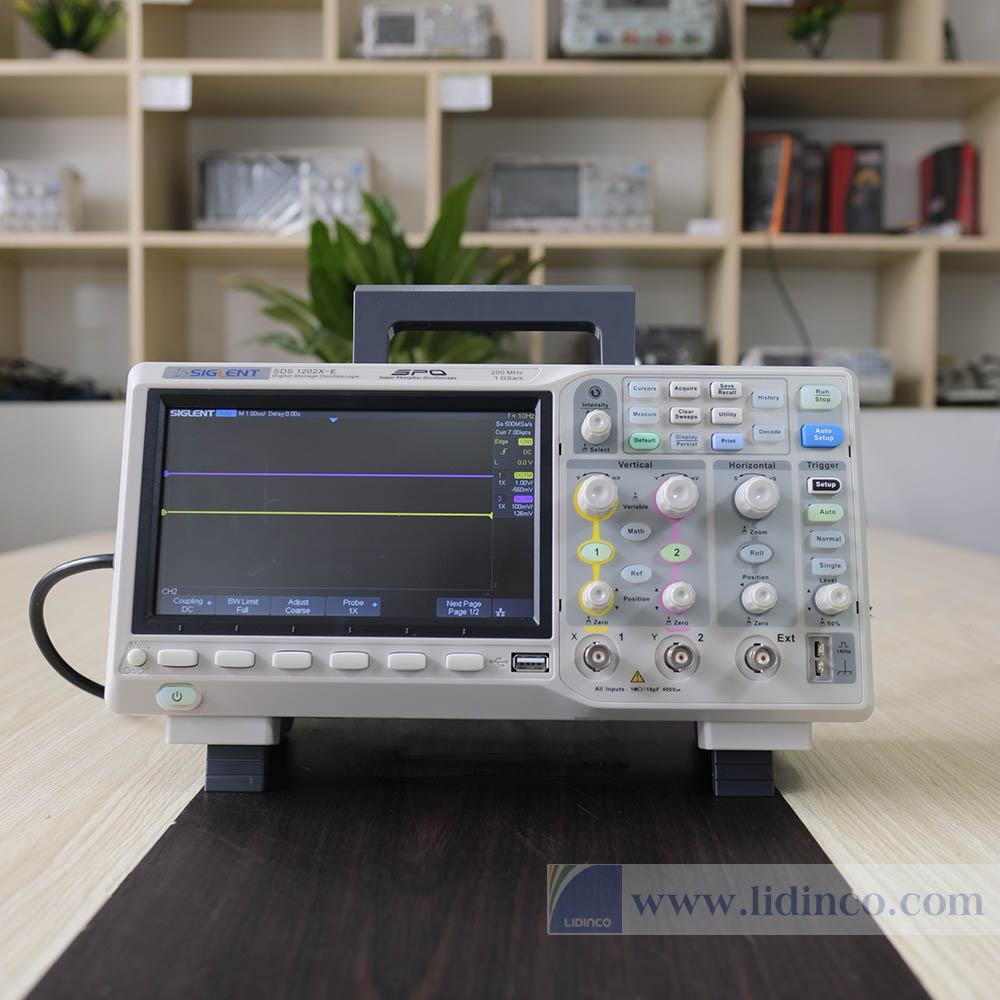 Máy hiện sóng Siglent SDS1202X-E 200MHz