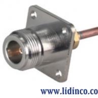 Connector RF (N) 25_N-50-3-9/133_NE, 50 Ohm, 11GHz