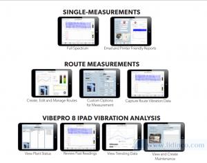 iPad Vibration Analysis With VibePro 8 - 1
