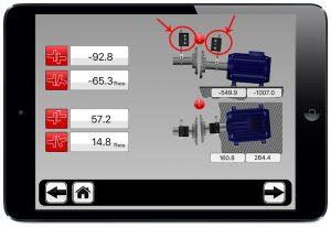 phần mềm cân bằng trực bằng laser -2