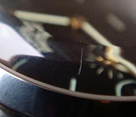 đánh bóng mặt kính sapphire đồng hồ