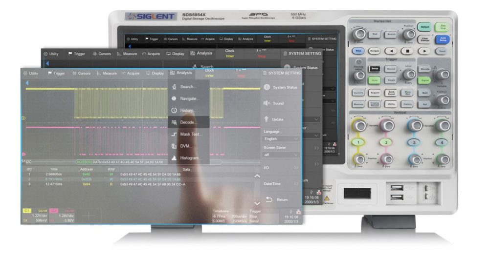 Màn hình rộng cảm ứng SDS5000X