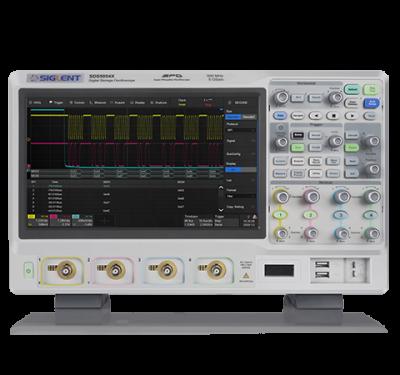 Máy hiện sóng SDS5000X mặt trước
