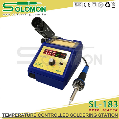 Trạm hàn kỹ thuật số Solomon SL-183 60W 480°C