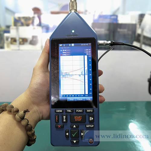 Máy đo độ ồn thông dụng