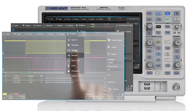 Oscilloscope SDS2102X Plus - 1