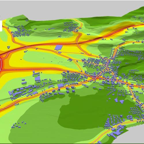 Phần mềm lập bản đồ tiếng ồn SoundPLAN