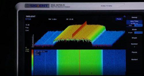phân tích phổ thời gian thực SSA3075X-R