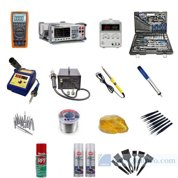 Bộ công cụ cho phòng thí nghiệm điện – điện tử cơ bản