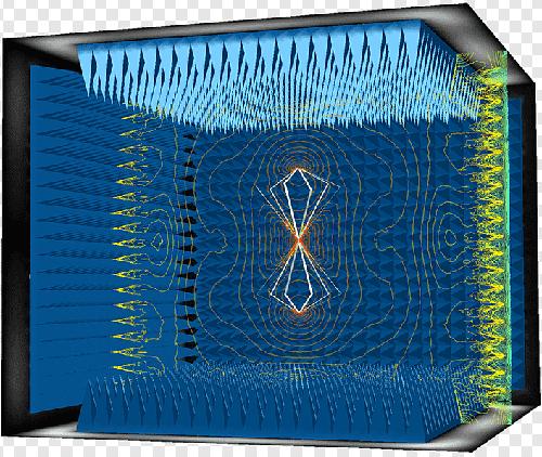 Anechoic Chamber phân tích tín hiệu RF