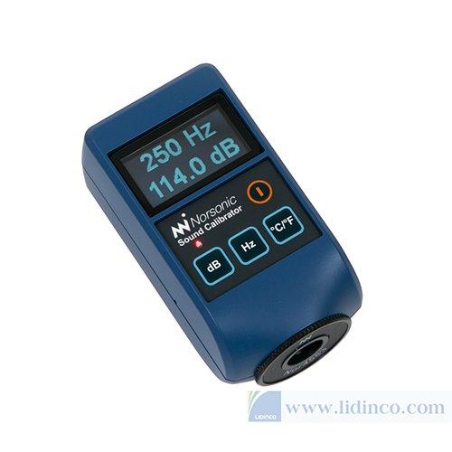 Bộ hiệu chuẩn máy đo độ ồn Norsonic Nor1256