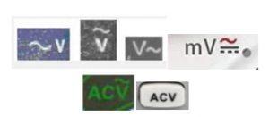 điện áp xoay chiều ac voltage multimeter