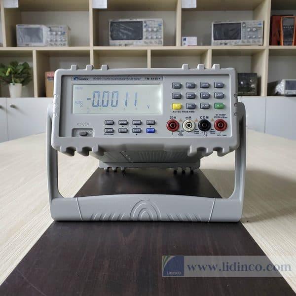 đồng hồ đo điện đa năng để bàn đài loan twintex tm8155