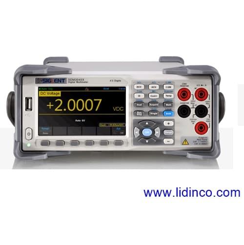 đồng hồ đo điện đa năng để bàn Siglent SDM3045X