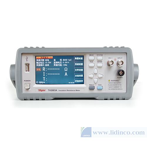 Máy đo điện trở cách điện TongHui TH2683A