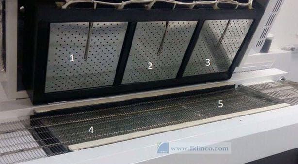 lò hàn linh kiện điện tử PCB NEODEN T5 reflow oven