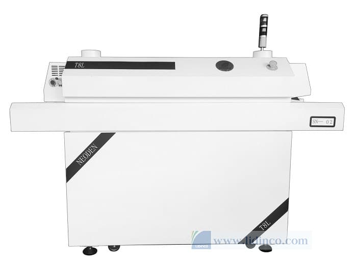 neoden t8l benchtop reflow oven