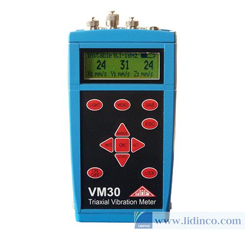 Máy đo độ rung của tua bin gió VDI 3834-1